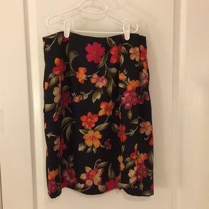 Vintage Chaus black skirt